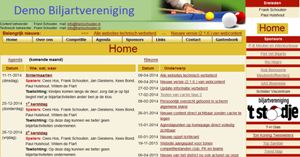 Demo Biljartvereniging